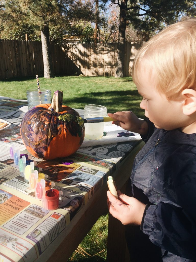 Pumpking Painting party