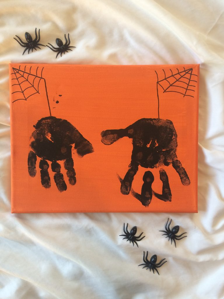 spider hand craft