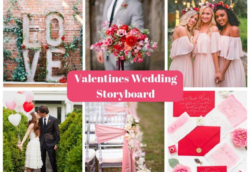 Valentine's Wedding Storyboard