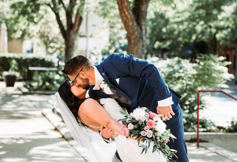 Billings Depot Wedding | David and Liz