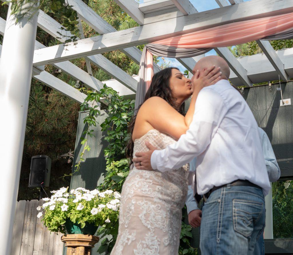 DanWalt Garden Wedding Ceremony