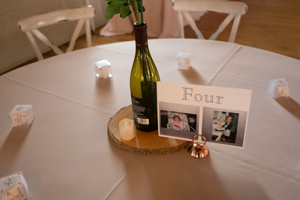 seating chard table numbers