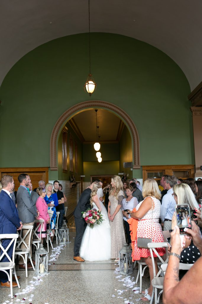 Billings Depot Wedding Ceremony