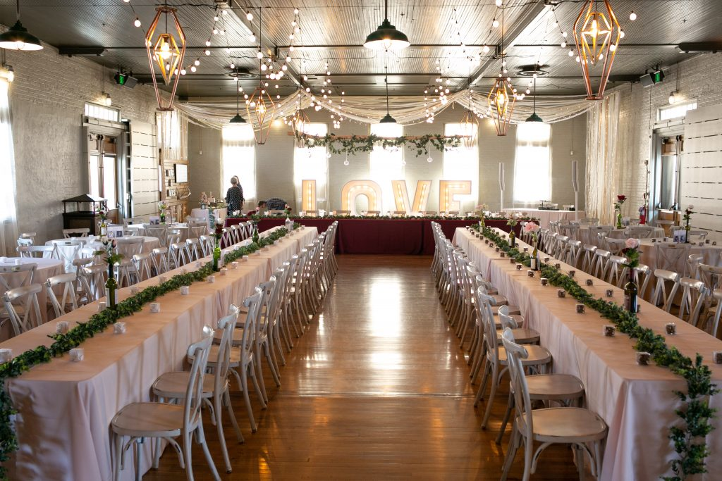 Billings Depot Wedding Reception